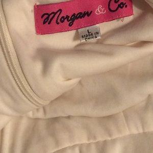 Morgan & Co. Dresses - Morgan & Co Silk Spaghetti Strap Dress